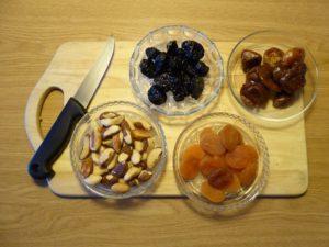 Сухофрукты замена сладкого