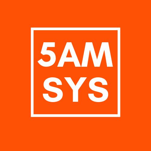 Логотип 5 AM SYSTEM