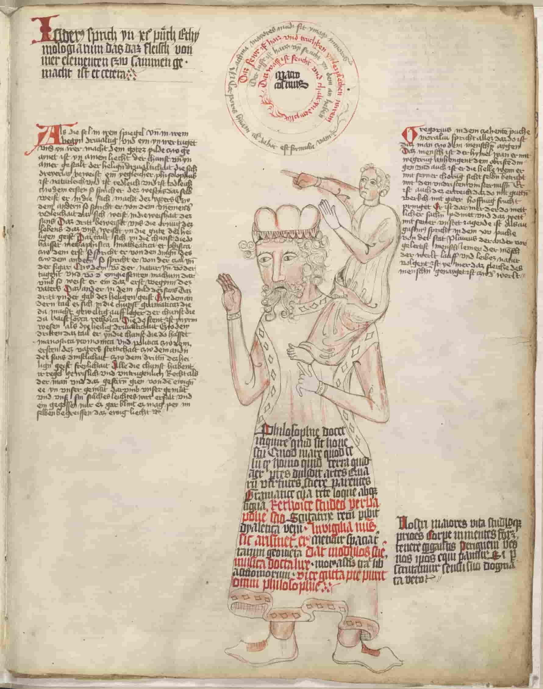 Седалион (слуга) на плечах слепого великана Ориона показывает путь своему хозяину